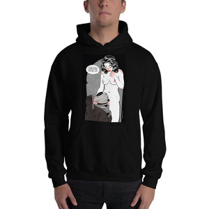 Invisible Man, Erotic Gothic, Hooded Sweatshirt