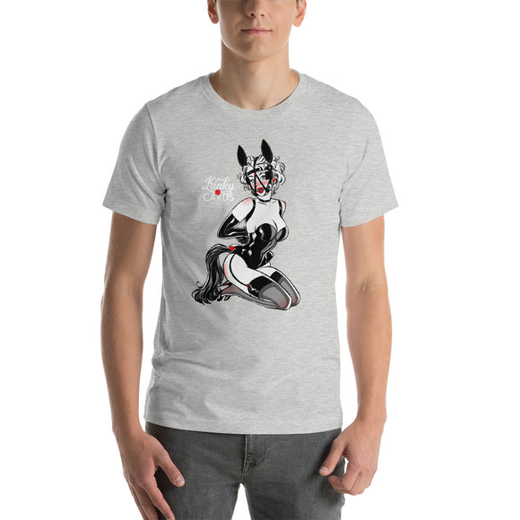 6 of hearts, Kinky Cards, Short-Sleeve Unisex T-Shirt