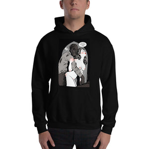 Wolfman, Erotic Gothic, Hooded Sweatshirt