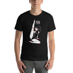 Jack of diamonds, Kinky Cards, Short-Sleeve Unisex T-Shirt