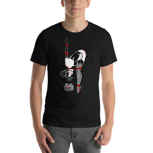 8 of clubs, Kinky Cards, Short-Sleeve Unisex T-Shirt