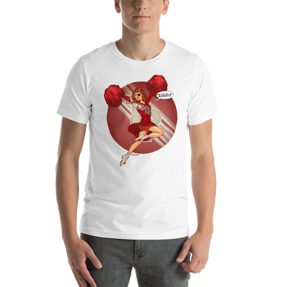 Nadine, Twin Peaks Pin-Up, Short-Sleeve Unisex T-Shirt