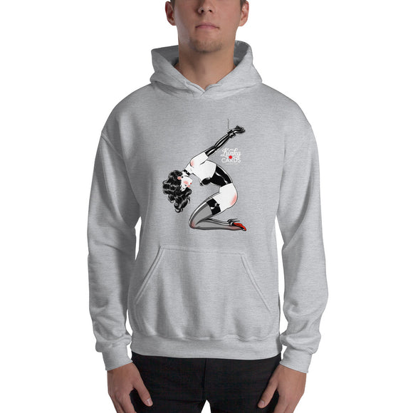 5 of spades, Kinky Cards, Hooded Sweatshirt