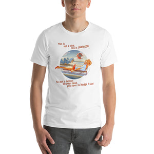 Sceleton, Sports Pin-Up, Short-Sleeve Unisex T-Shirt