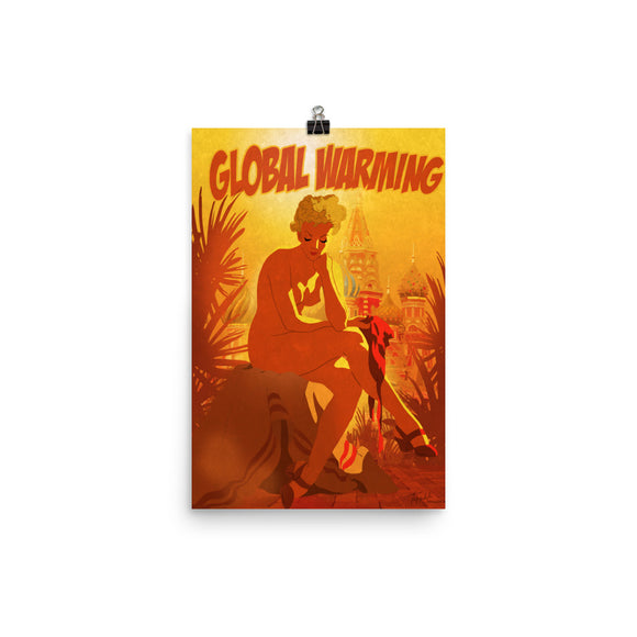 Global Warming, Apocalypse Tomorrow, Poster