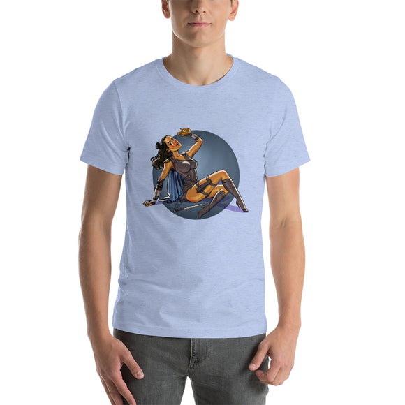 Valkyrie, Infinity War Pin-Up, Short-Sleeve Unisex T-Shirt
