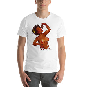 Dionis, Greek Gods Pin-Up  (NSFW), Short-Sleeve Unisex T-Shirt