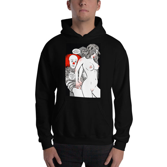 Pennywise, Erotic Gothic, Hooded Sweatshirt