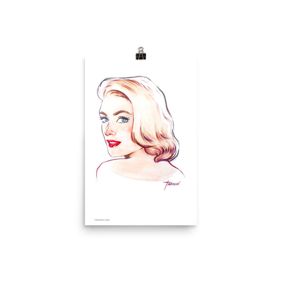 Grace Kelly, Hollywood Icons, Poster