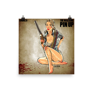 Andrea, The Walking Dead Pin-Up, Poster