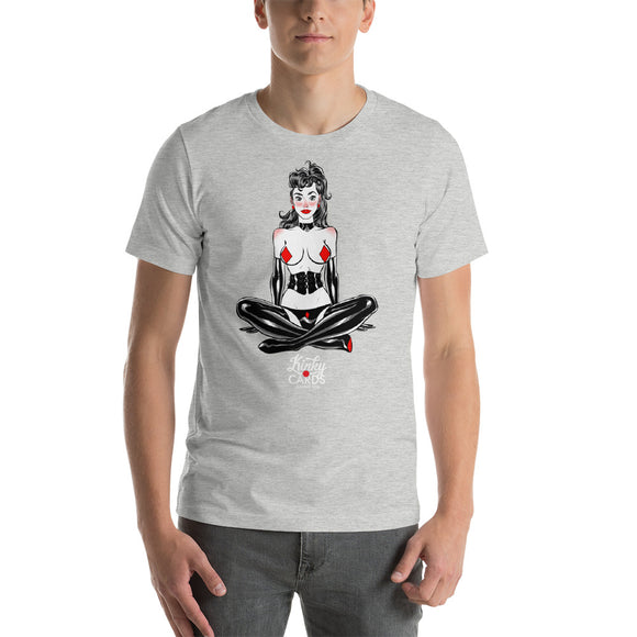9 of diamonds, Kinky Cards, Short-Sleeve Unisex T-Shirt