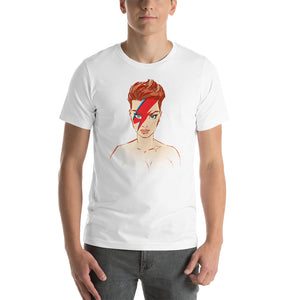 David Bowie, Celebrities, Short-Sleeve Unisex T-Shirt