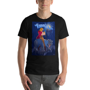 "Catherine Deneuve in ""The Werewolf and the Red Riding Hood"", Classic Monsters & Beauties, Short-Sleeve Unisex T-Shirt"