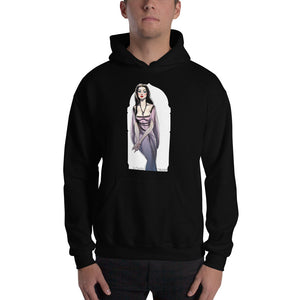 Lily Munster, Halloween Girls Pin-Up, Hooded Sweatshirt