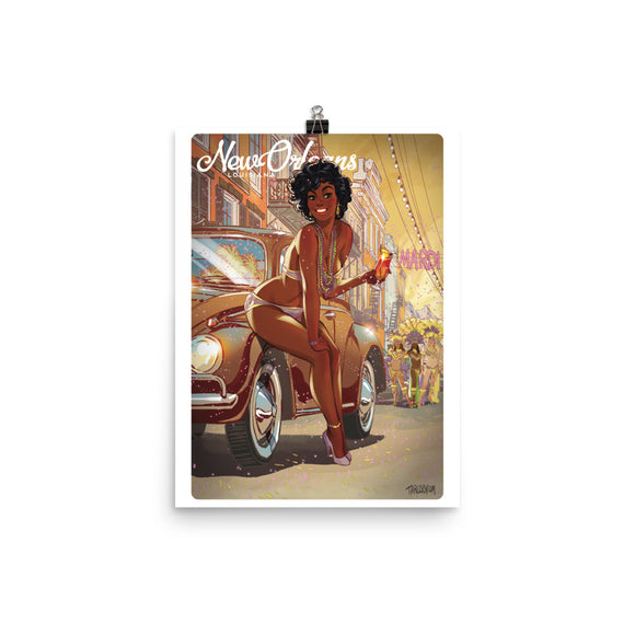 New Orleans, American Calendar, Poster