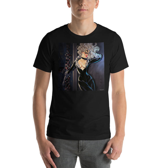 Black Cat, Superheroes, Short-Sleeve Unisex T-Shirt