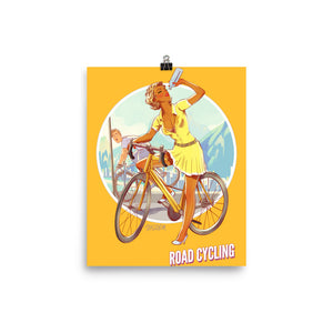 Road Cycling, Brazil Olympics, Poster