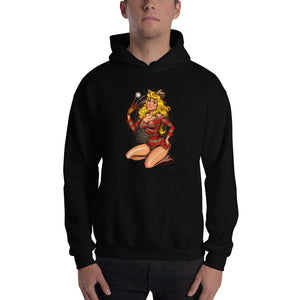 Freddy Krueger from the Nightmare on The Elm Street - Aurora, Maniac Princesses, Hooded Sweatshirt
