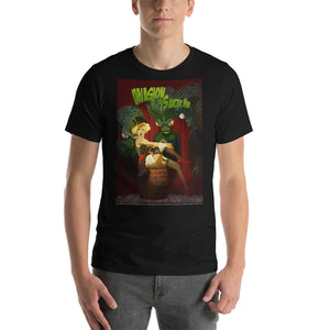 "Marlene Dietrich in ""Invasion of the Saucer Men"", Classic Monsters & Beauties, Short-Sleeve Unisex T-Shirt"