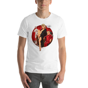 Laura Palmer, Twin Peaks Pin-Up, Short-Sleeve Unisex T-Shirt