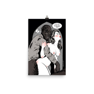 Wolfman, Erotic Gothic, Poster