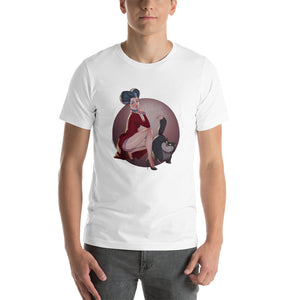 Lady Tremain, Disney Villains Pin-Up, Short-Sleeve Unisex T-Shirt
