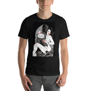 Mummy, Erotic Gothic, Short-Sleeve Unisex T-Shirt