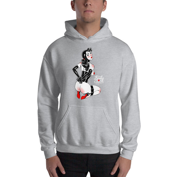 6 of diamonds, Kinky Cards, Hooded Sweatshirt