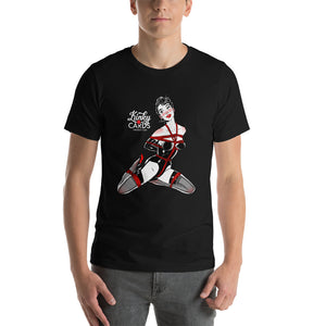 Jack of clubs, Kinky Cards, Short-Sleeve Unisex T-Shirt