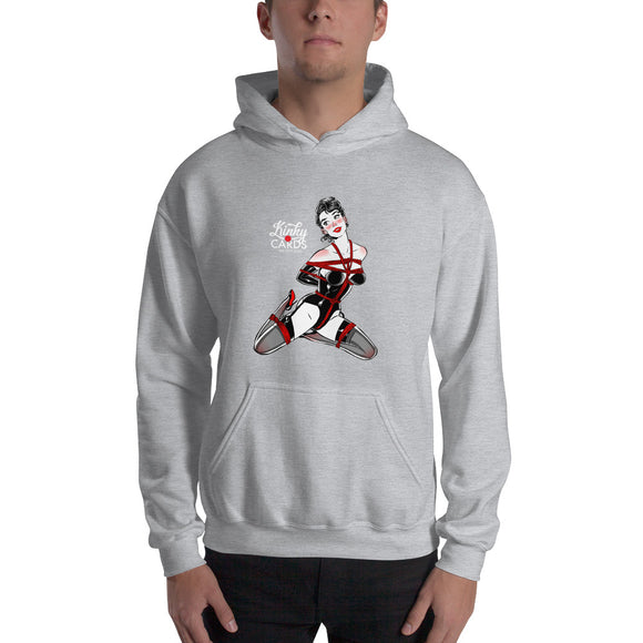 Jack of clubs, Kinky Cards, Hooded Sweatshirt