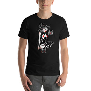 King of diamonds, Kinky Cards, Short-Sleeve Unisex T-Shirt