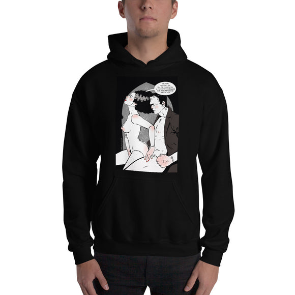 Frankenstain & Bride, Erotic Gothic, Hooded Sweatshirt