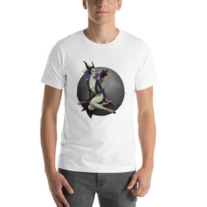 Maleficent, Disney Villains Pin-Up, Short-Sleeve Unisex T-Shirt
