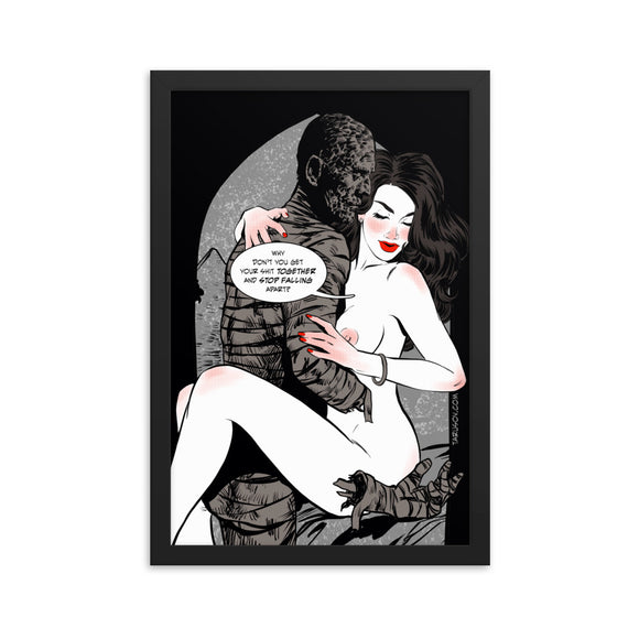 Mummy, Erotic Gothic, Framed poster