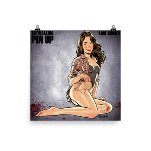 Lori Grimes, The Walking Dead Pin-Up, Poster