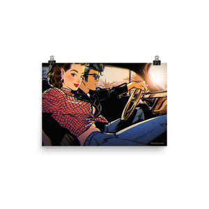 Rockabilly Couple, Other, Poster