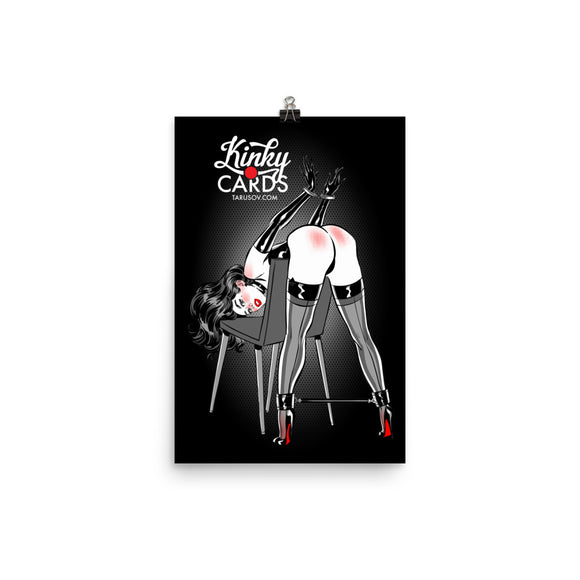 10 of spades, Kinky Cards, Poster