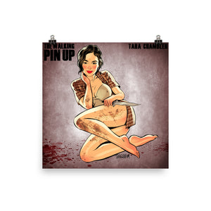 Tara Chambler, The Walking Dead Pin-Up, Poster