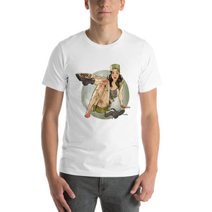 Rosita Espinosa, The Walking Dead Pin-Up, Short-Sleeve Unisex T-Shirt