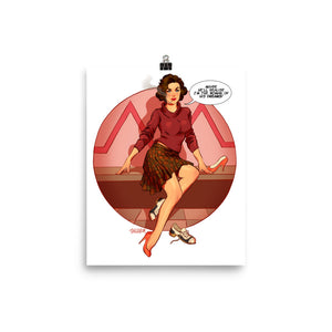Audrey Horn, Twin Peaks Pin-Up, Poster