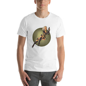 Black Widow, Infinity War Pin-Up, Short-Sleeve Unisex T-Shirt