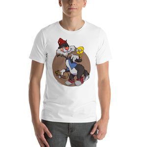 Tweety & Silvester, Cartoons Got Old, Short-Sleeve Unisex T-Shirt