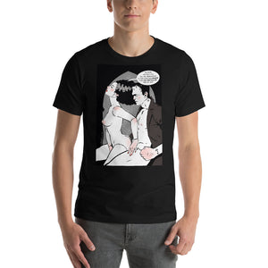 Frankenstain & Bride, Erotic Gothic, Short-Sleeve Unisex T-Shirt