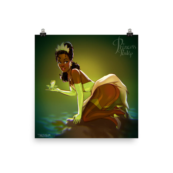 Tiana from The Princess and the Frog, Disney Princesses Pin-Up, Poster
