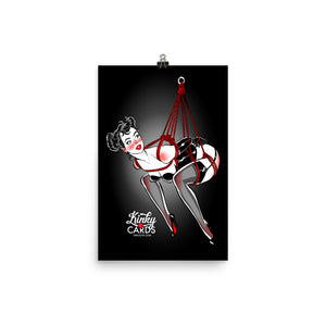 10 of clubs, Kinky Cards, Poster