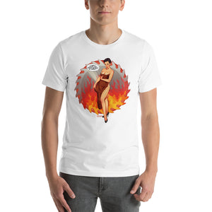Josie Packard, Twin Peaks Pin-Up, Short-Sleeve Unisex T-Shirt