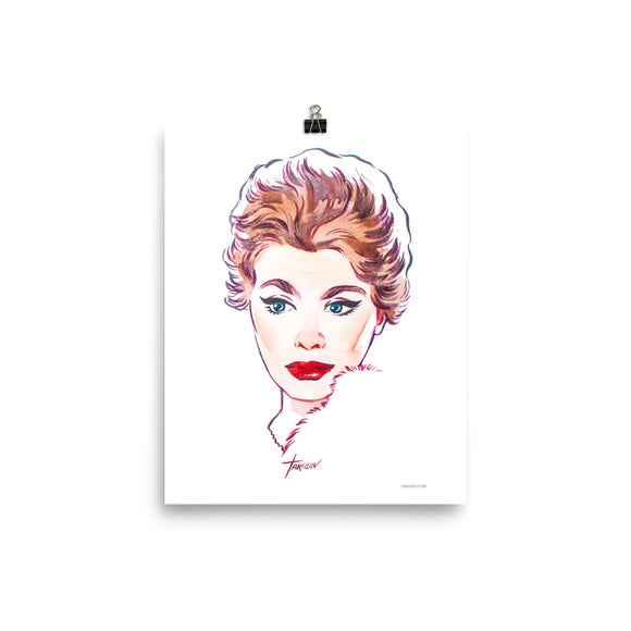 Sophia Loren, Hollywood Icons, Poster