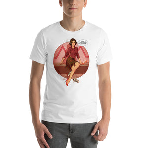 Audrey Horn, Twin Peaks Pin-Up, Short-Sleeve Unisex T-Shirt