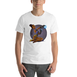 Shuri, Infinity War Pin-Up, Short-Sleeve Unisex T-Shirt