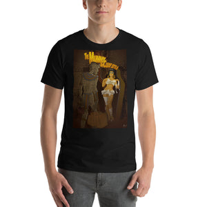 "Elizabeth Taylor and Boris Karloff in ""The Mummy and Cleopatra"", Classic Monsters & Beauties, Short-Sleeve Unisex T-Shirt"